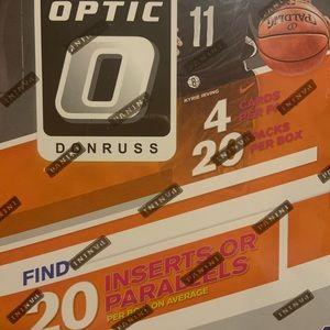 1 box of 2019-20 optic basketball